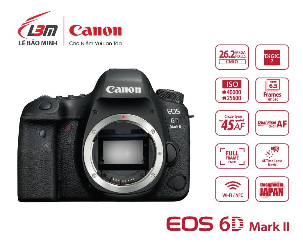 Máy ảnh Canon EOS 6D Mk II Body