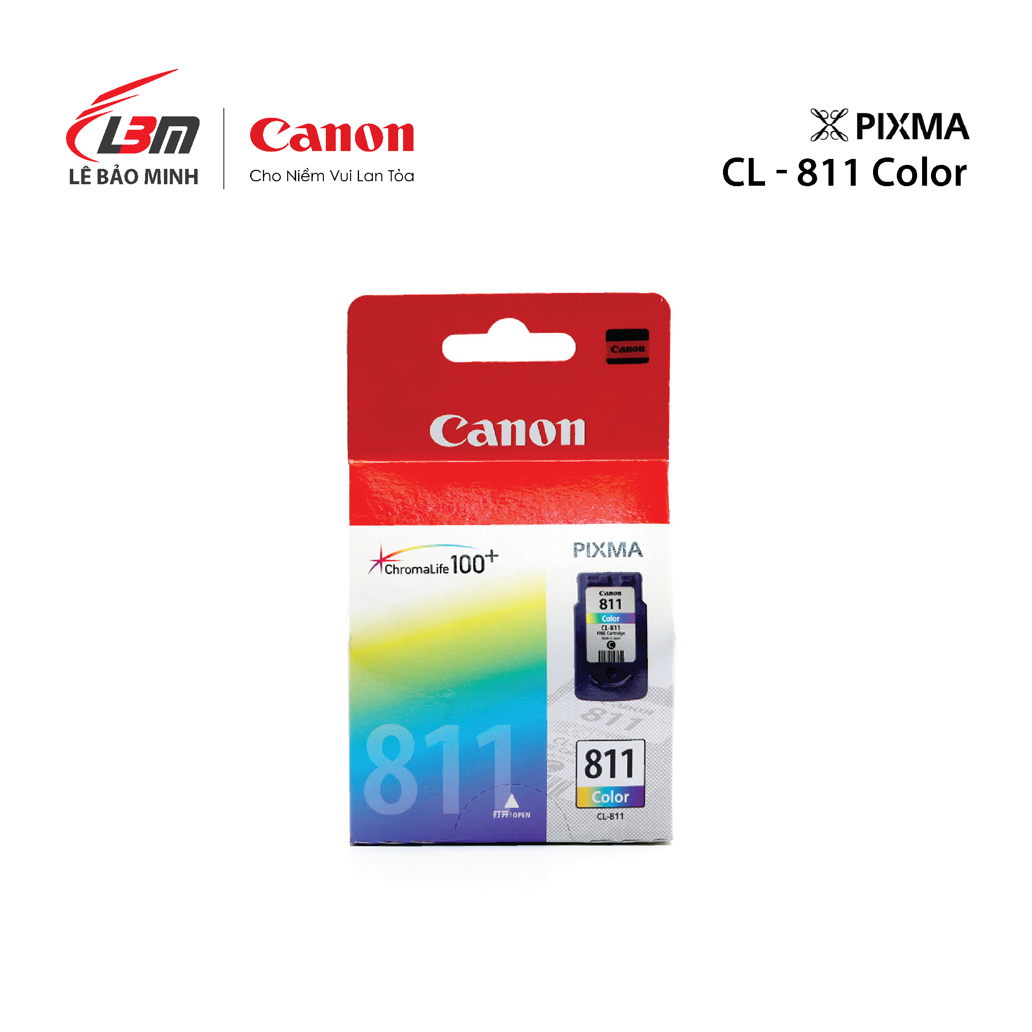 Hộp mực Canon CL-811