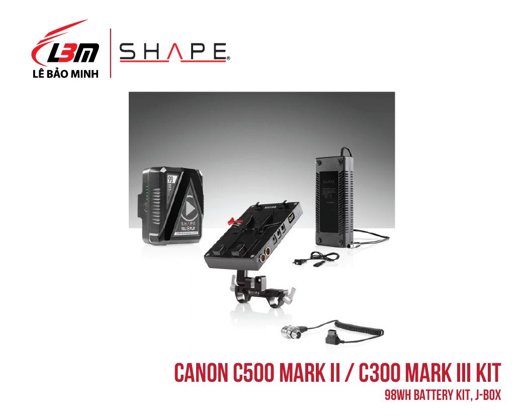 CANON C500 MARK II, C300 MARK III 98WH BATTERY KIT, J-BOX