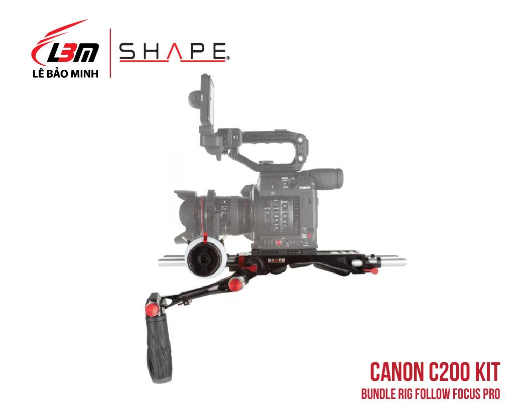 CANON C200 BUNDLE RIG FOLLOW FOCUS PRO