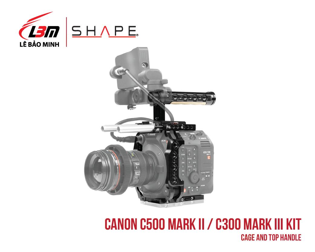 CANON C500 MARK II, C300 MARK III CAGE AND TOP HANDLE