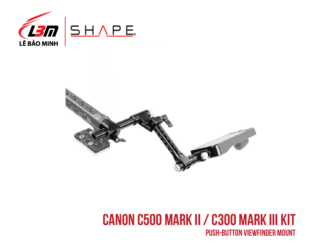 CANON C500 MARK II, C300 MARK III PUSH-BUTTON VIEWFINDER MOUNT