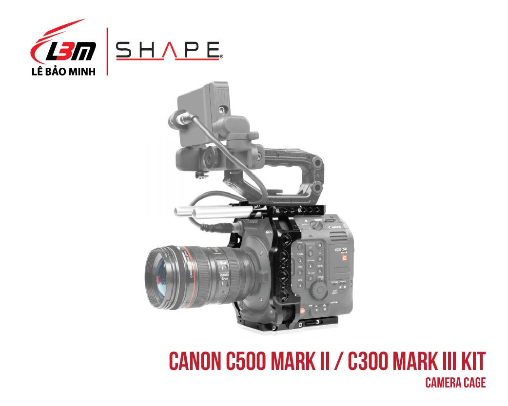 CANON C500 MARK II, C300 MARK III CAMERA CAGE