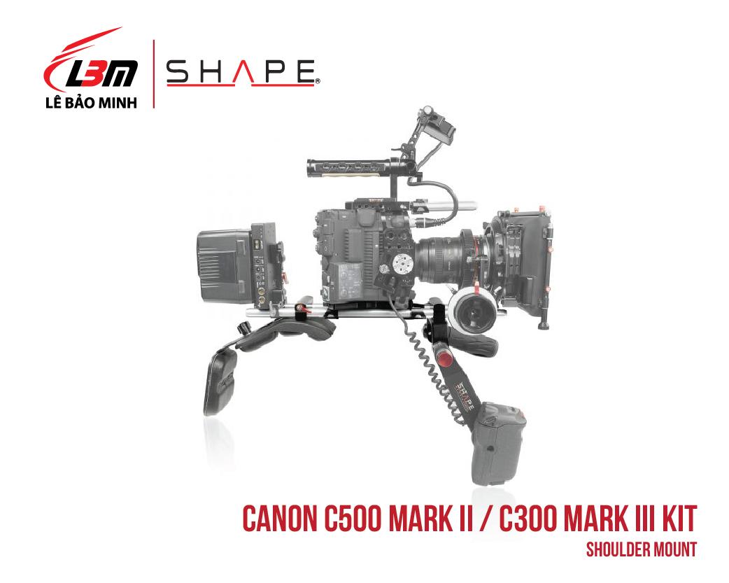 CANON C500 MARK II, C300 MARK III SHOULDER MOUNT