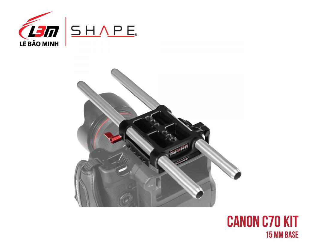 CANON C70 15 MM BASE