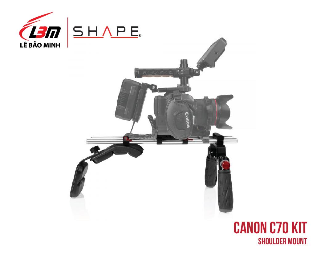 CANON C70 SHOULDER MOUNT