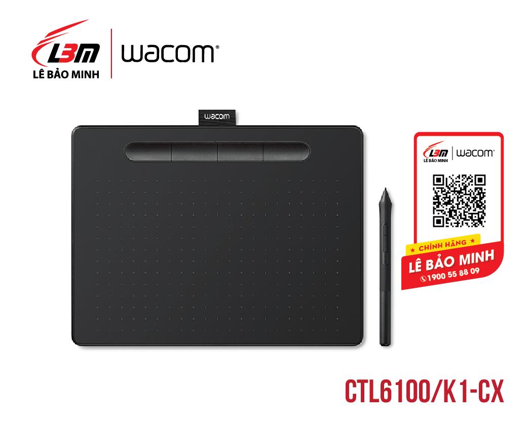 Bảng vẽ Wacom Intuos M, Black CTL-6100/K1-CX