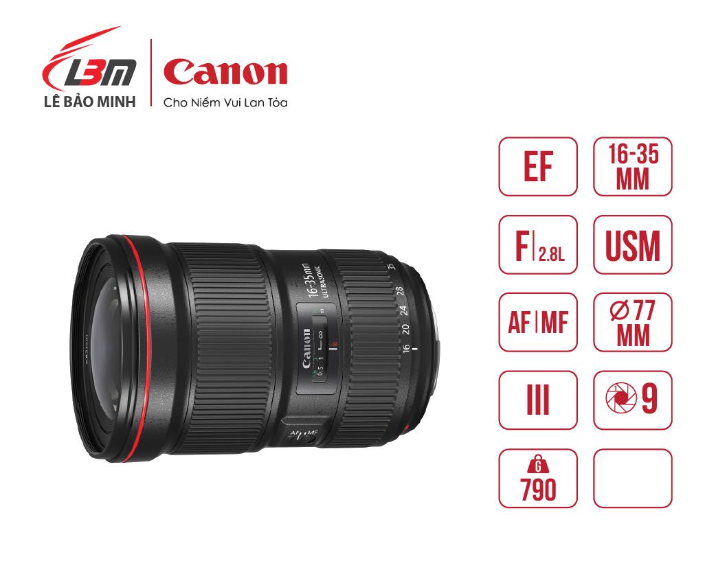 Ống kính Canon EF16-35mm f/2.8L III USM