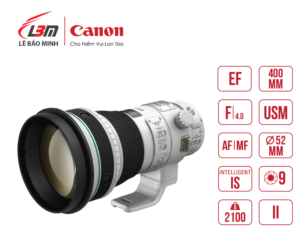 Ống Kính CANON EF400mm f/4 DO IS II USM