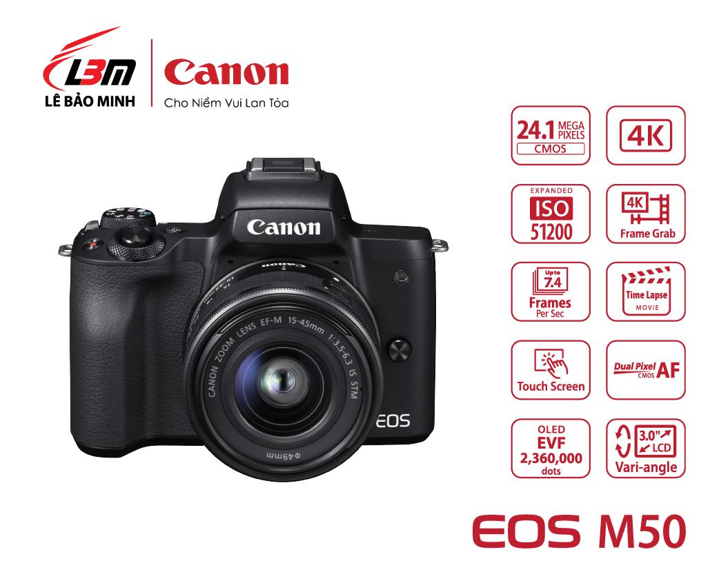 EOS M50 Kit (EF-M15-45 IS STM)
