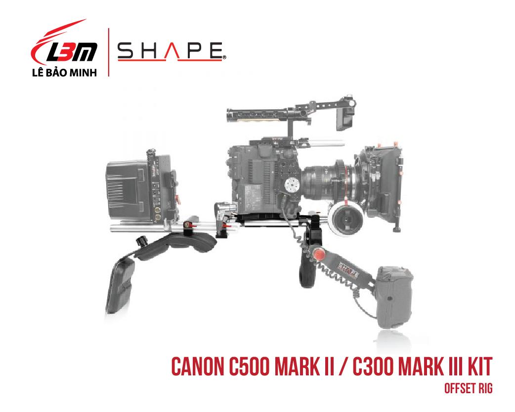 CANON C500 MARK II, C300 MARK III OFFSET RIG