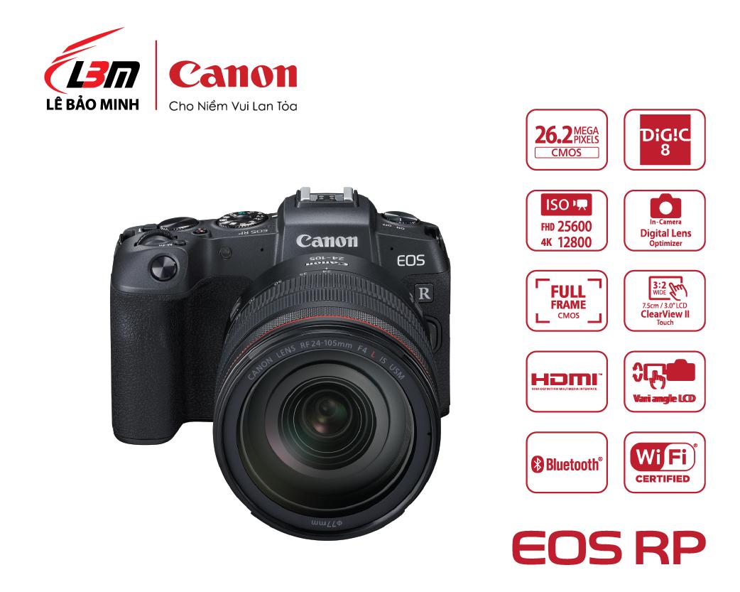 Máy ảnh Canon EOS RP kit 24-105mm USM
