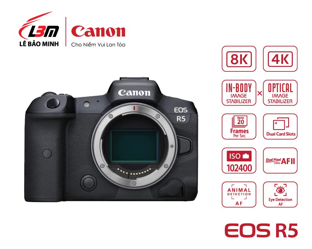 Máy ảnh Canon EOS R5 Body