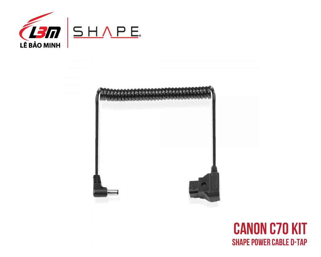 CANON C70 SHAPE POWER CABLE D-TAP