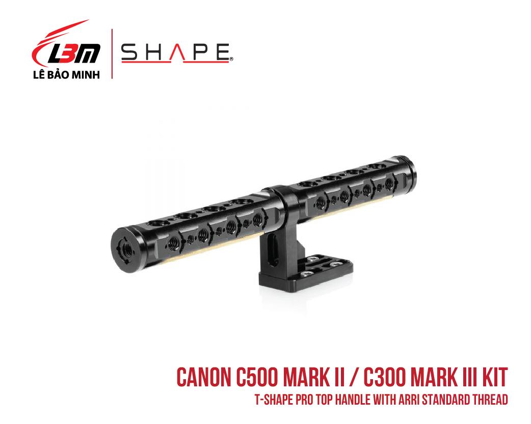 CANON C500 MARK II, C300 MARK III T-SHAPE PRO TOP HANDLE WITH ARRI STANDARD THREAD