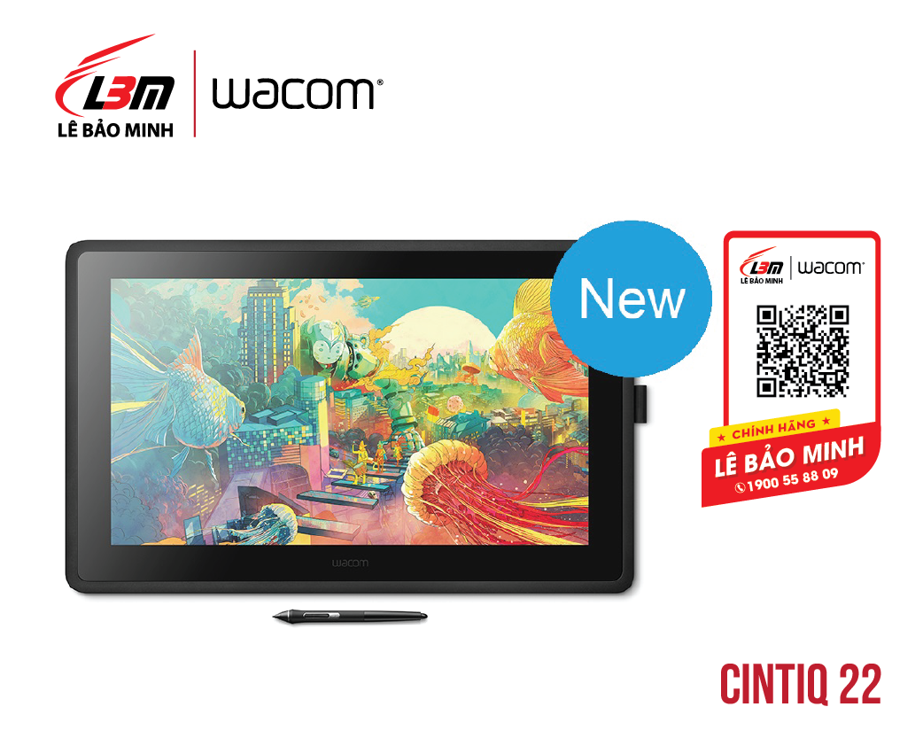 Bảng vẽ Wacom Cintiq 22HD DTK-2260/K0-CX