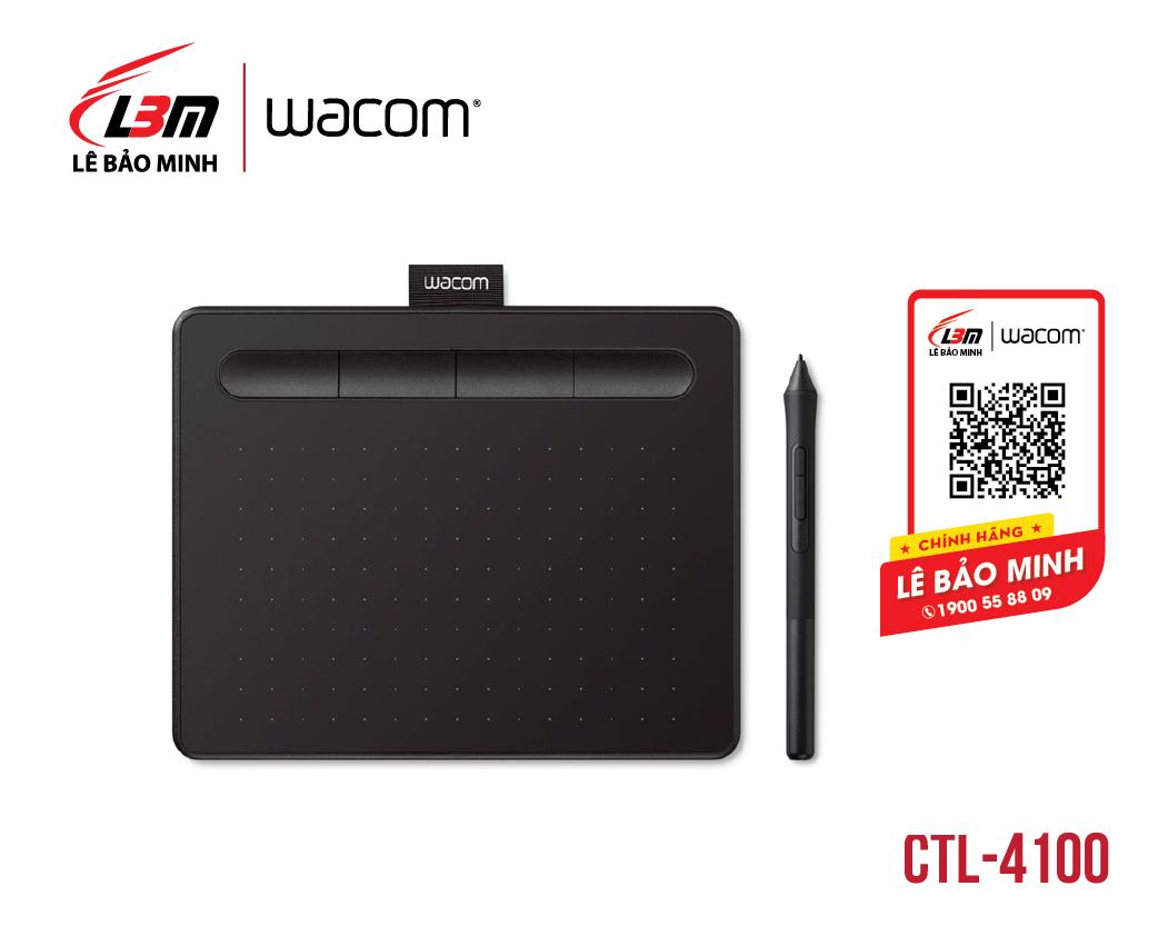 Bảng vẽ Wacom Intuos S, Black CTL-4100/K0-CX