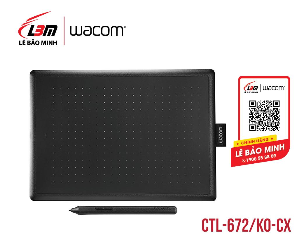 Bảng vẽ One by Wacom Medium CTL-672/K0-CX