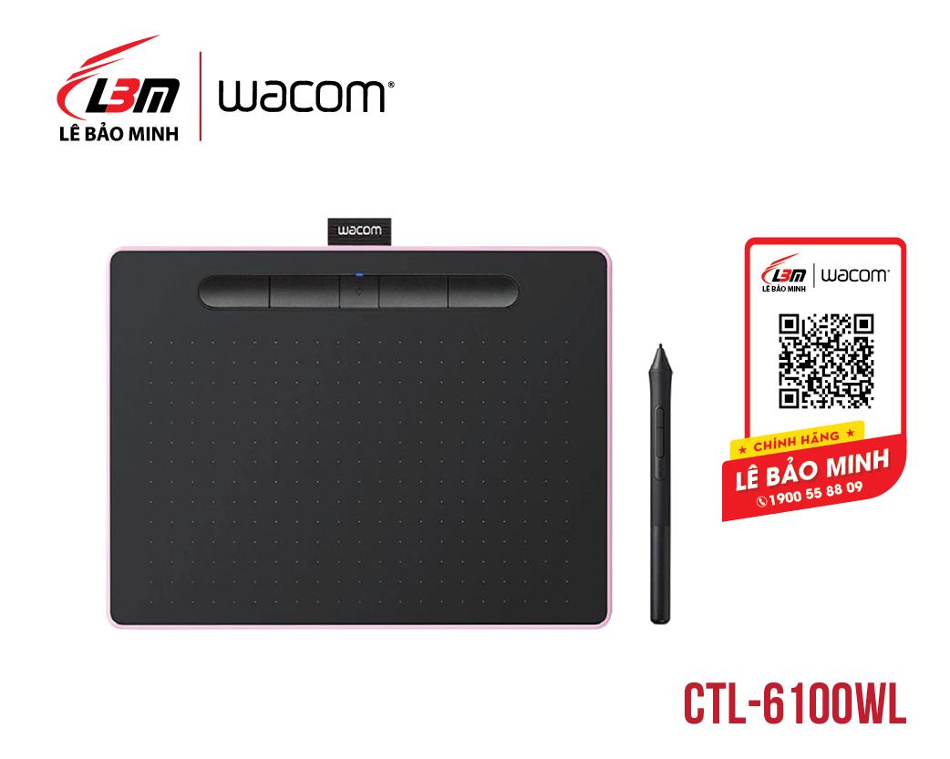 Bảng vẽ Wacom Intuos M, Bluetooth, Berry CTL-6100WL/P0-CX