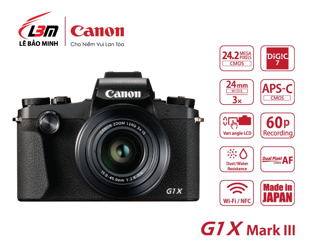 Máy ảnh Canon Powershot G1X Mk III