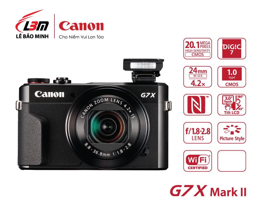 Máy ảnh Canon Powershot G7X Mk II