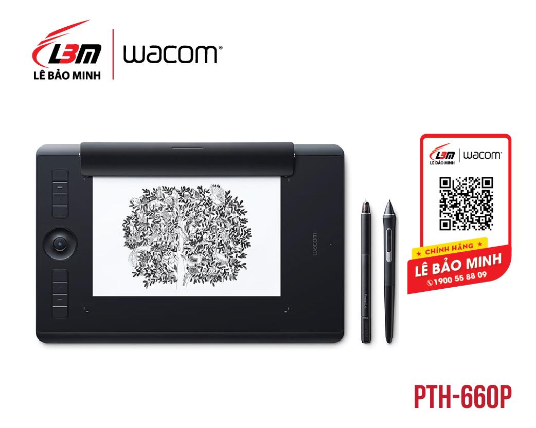 Bảng vẽ Wacom Intuos Pro Paper Medium PTH-660/K1-CX