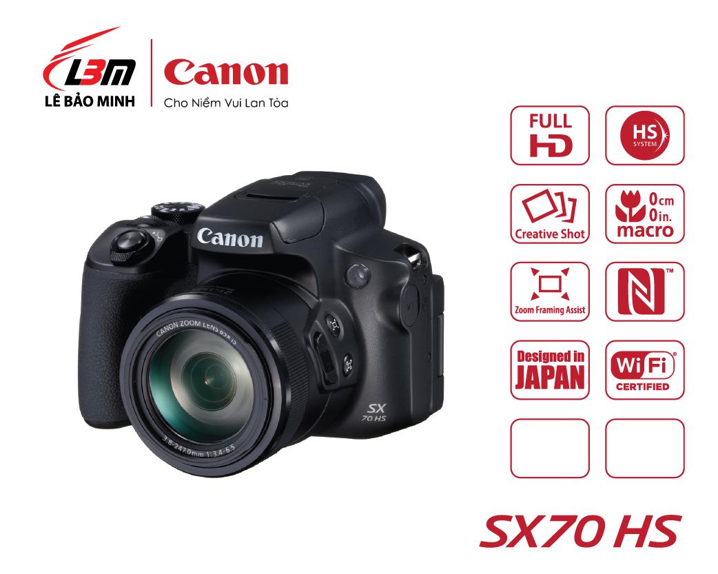 Máy ảnh Canon Powershot SX70HS