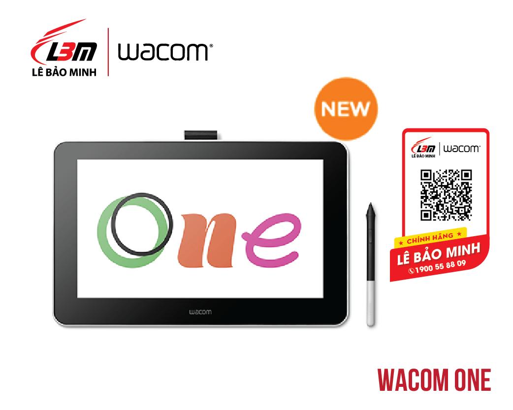 Bảng vẽ Wacom One DTC-133/W0-CX