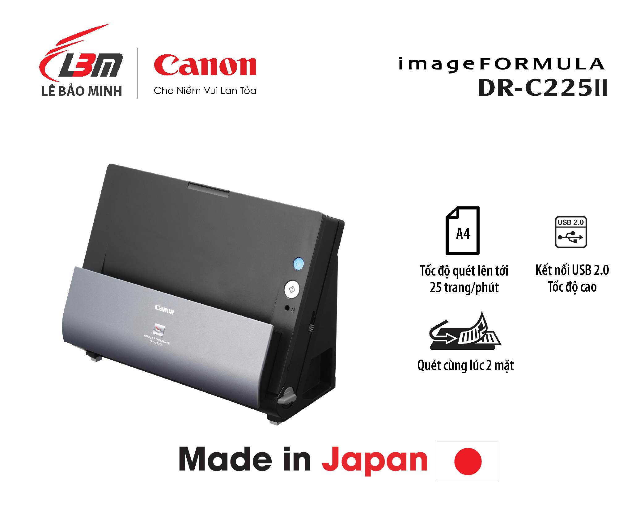 Scan Canon DR-C225 II