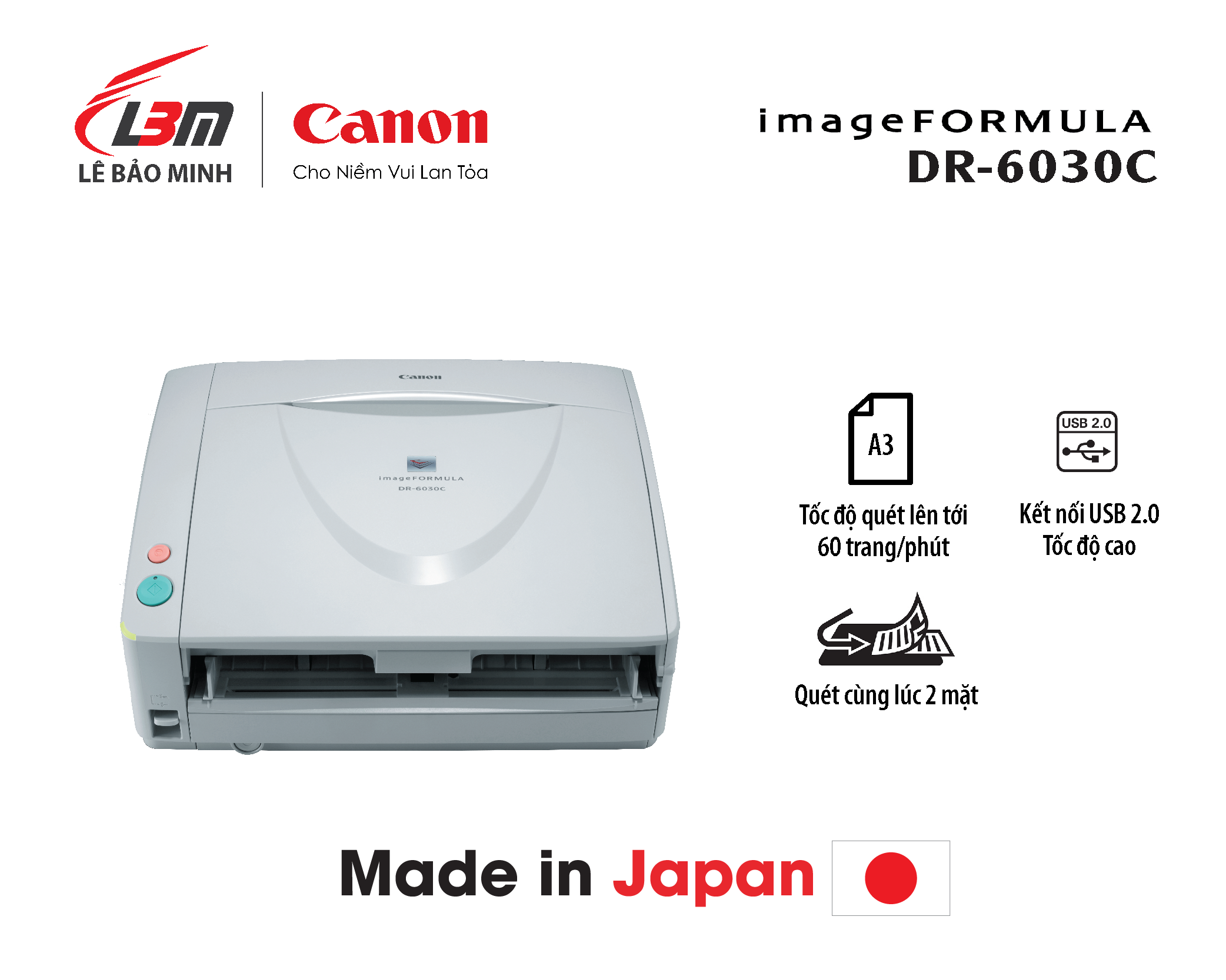 Scan Canon A3 DR-6030C