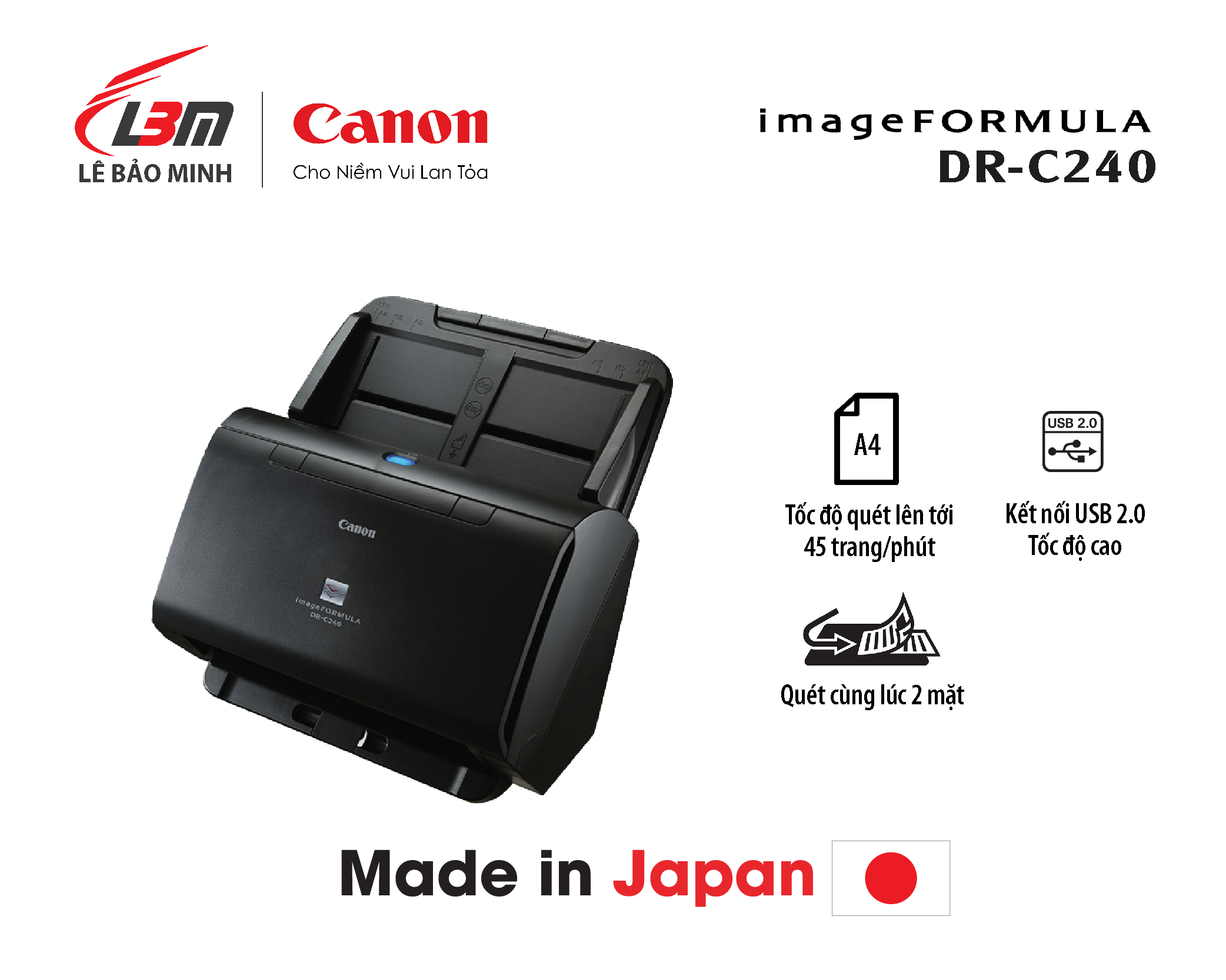 Scan Canon DR-C240