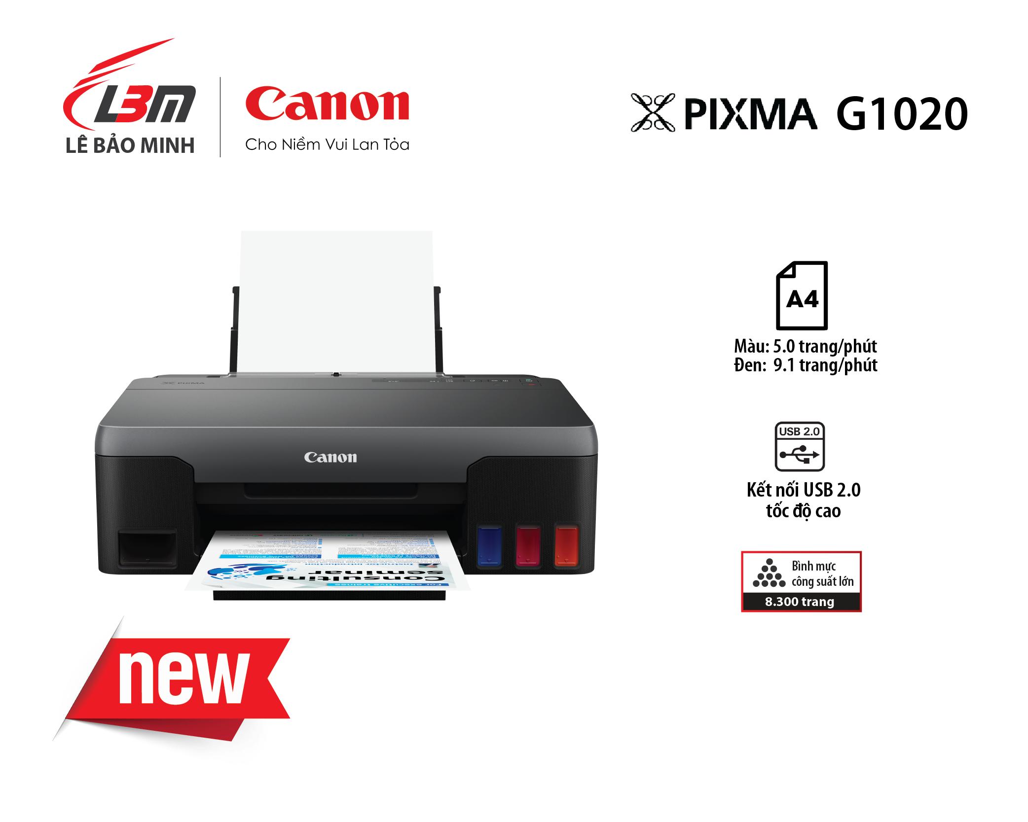 Máy in Phun liên tục Canon G1020