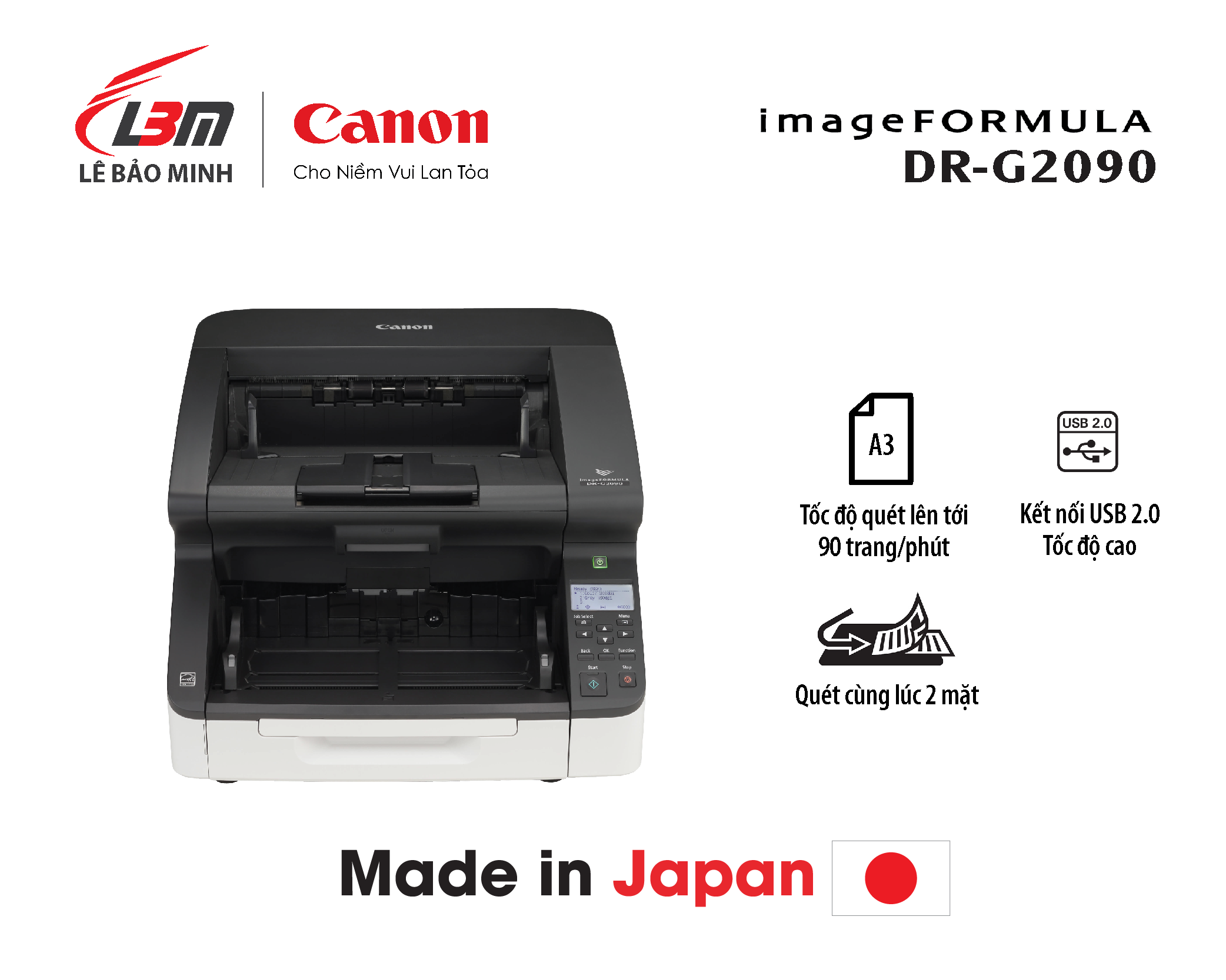 Scan Canon A3 DR-G2090
