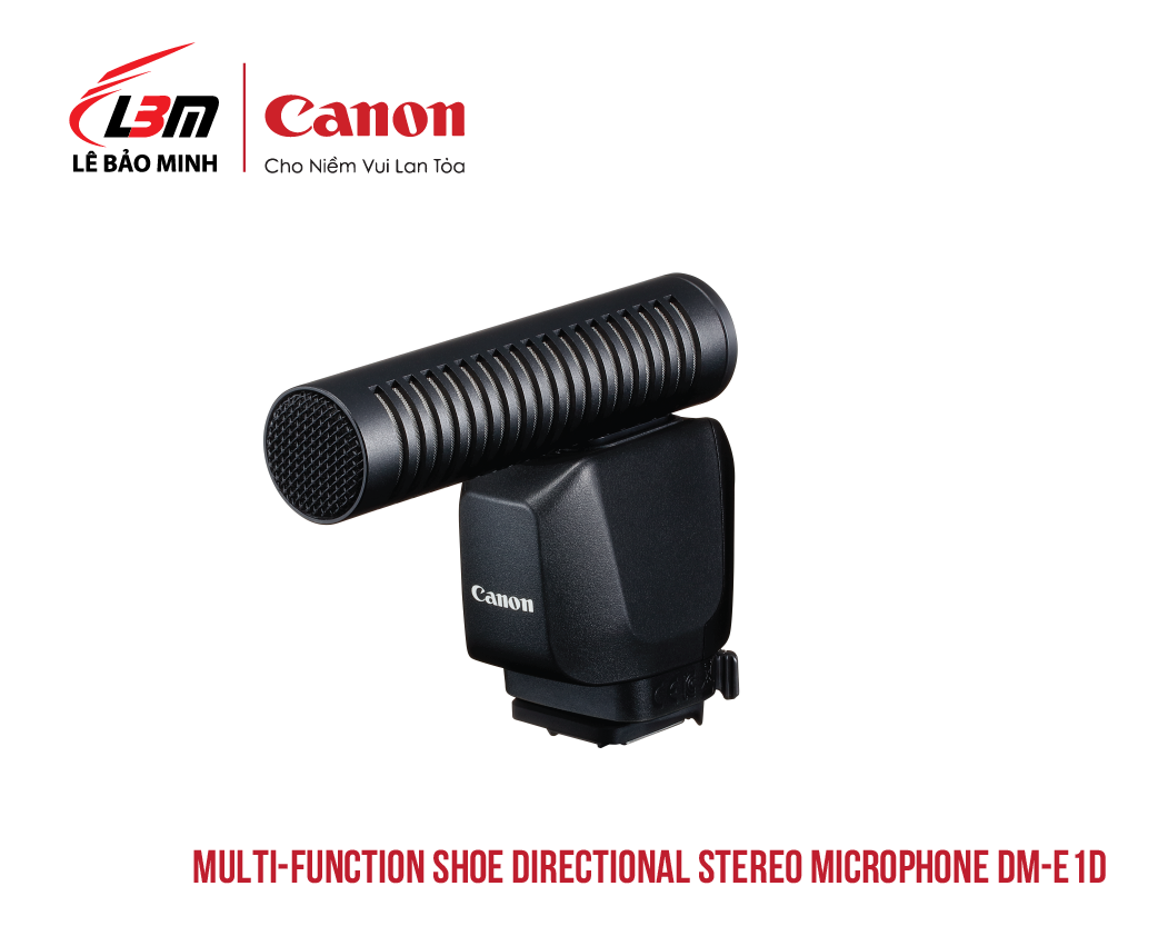 Multi-Function Shoe Directional Stereo Microphone DM-E1D
