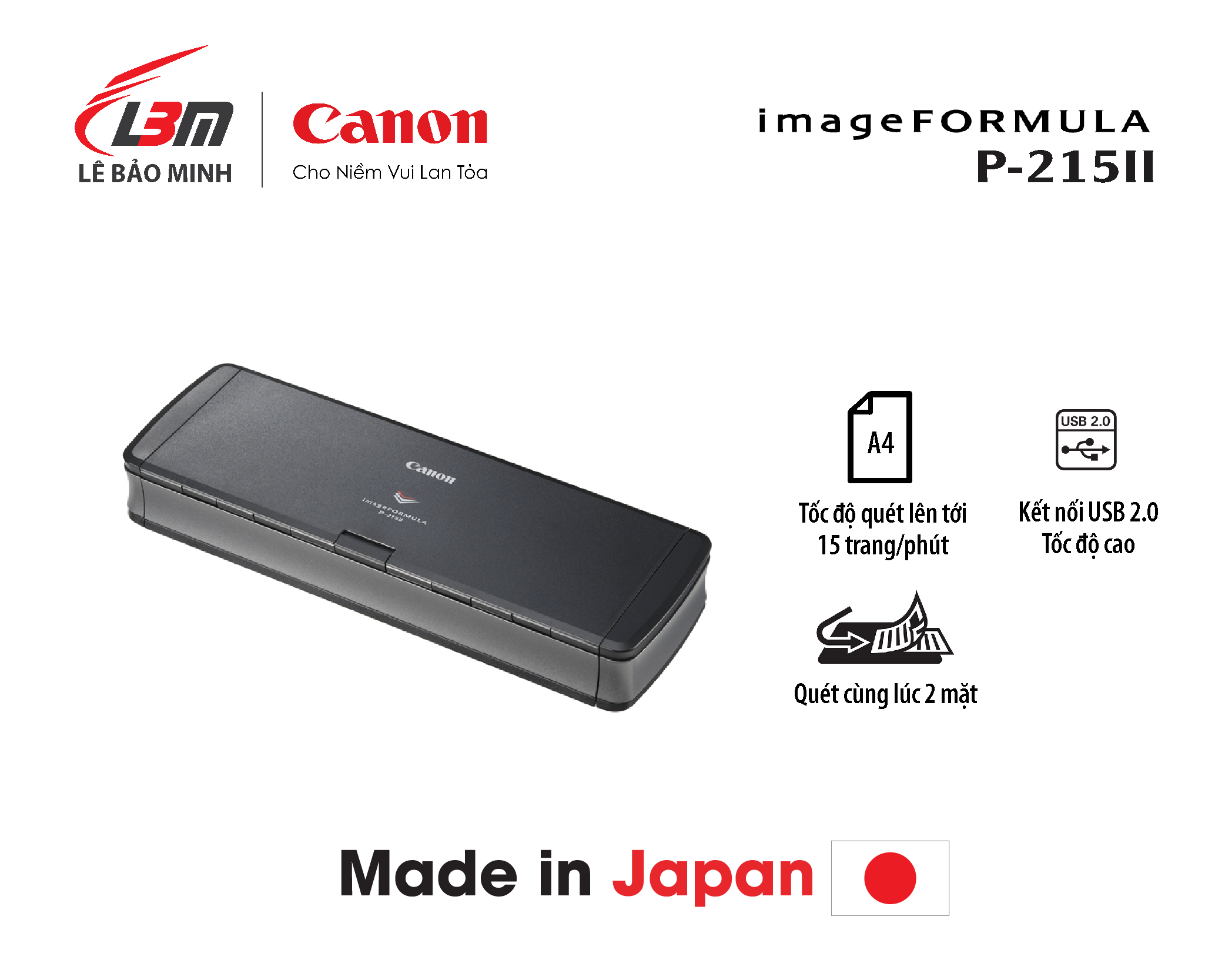 Scan Canon P-215II