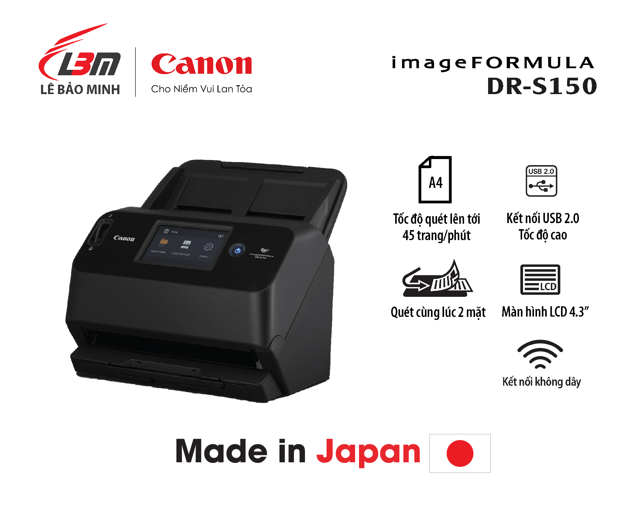 Scan Canon DR-S150