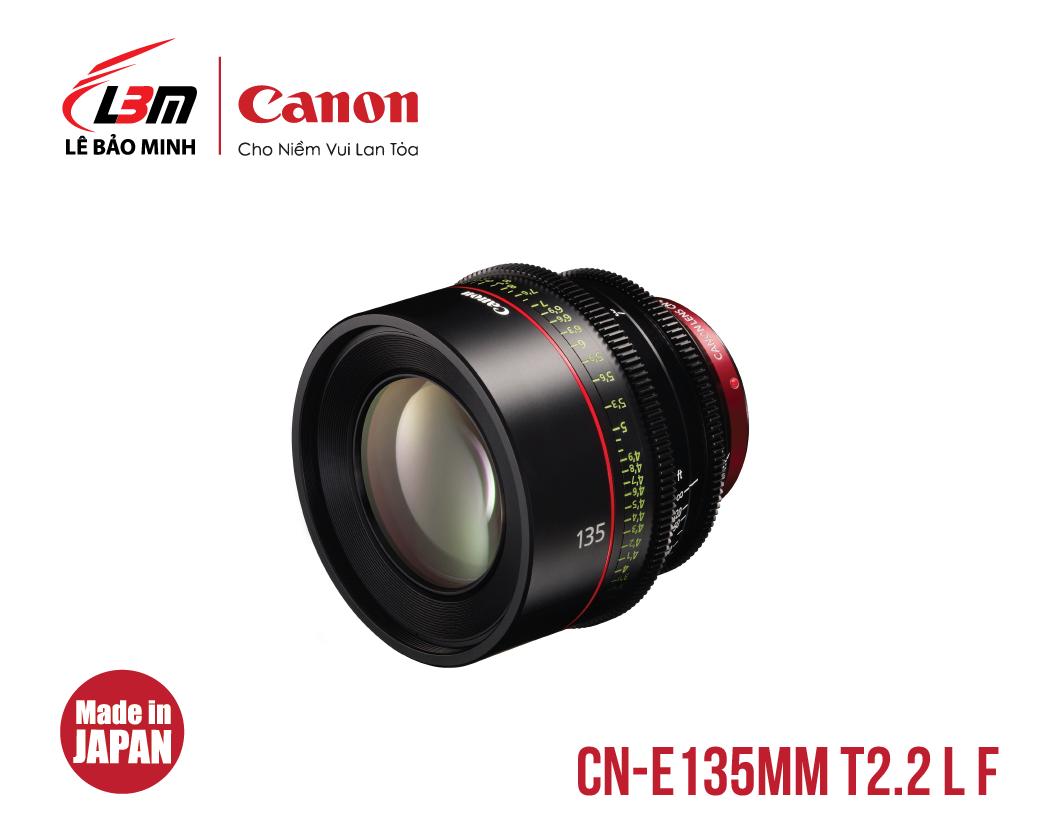 Ống kính Canon CN-E135mm T2.2 L F (EF)