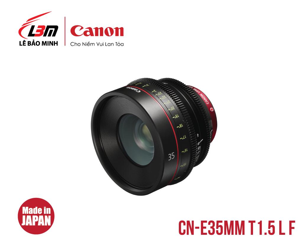 Ống kính Canon CN-E35mm T1.5 L F (EF)