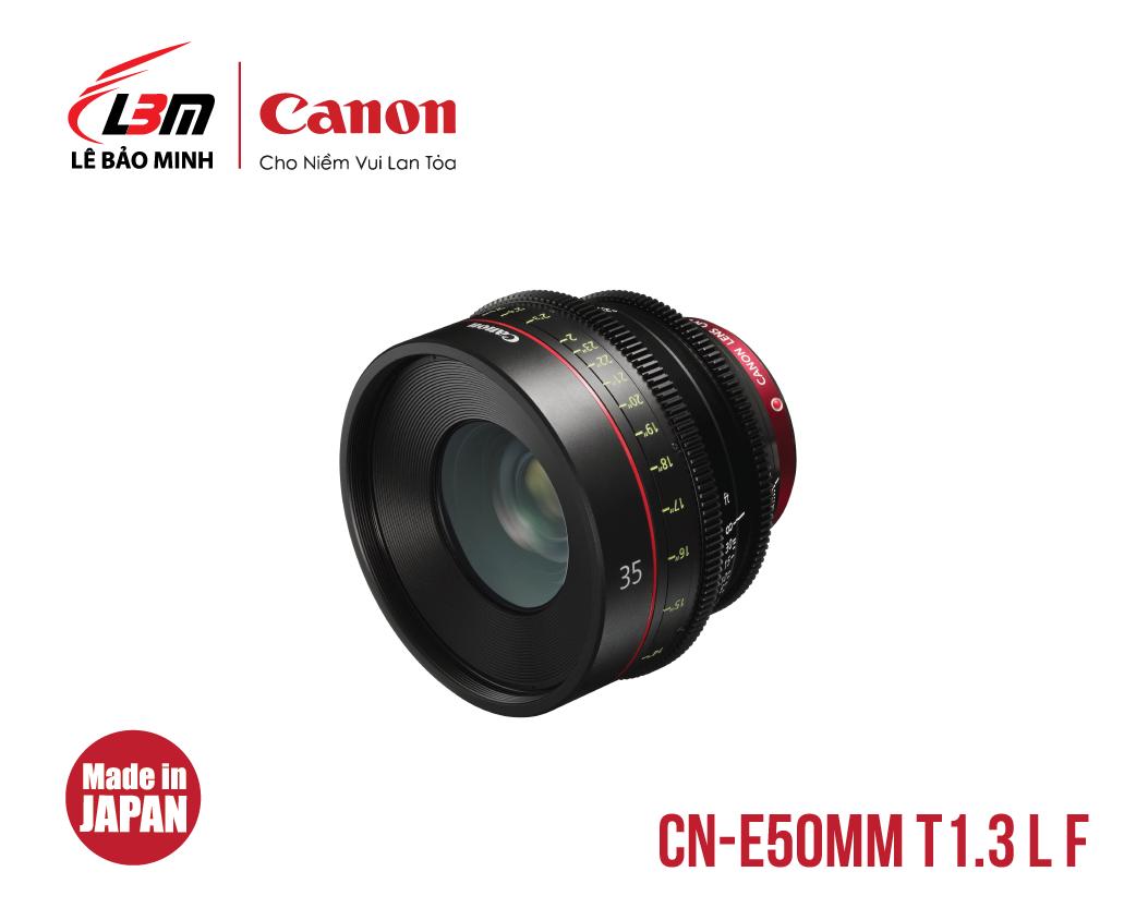 Ống kính Canon CN-E50mm T1.3 L F (EF)