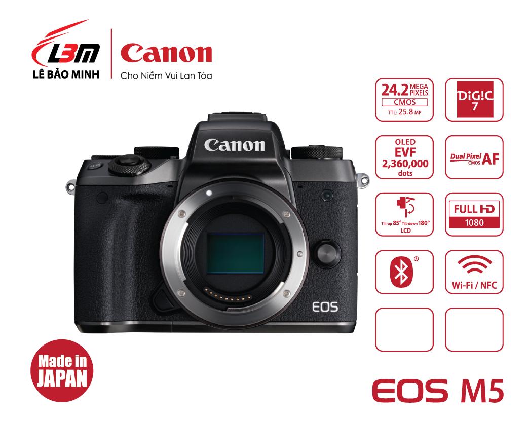 Máy ảnh Canon EOS M5 Body