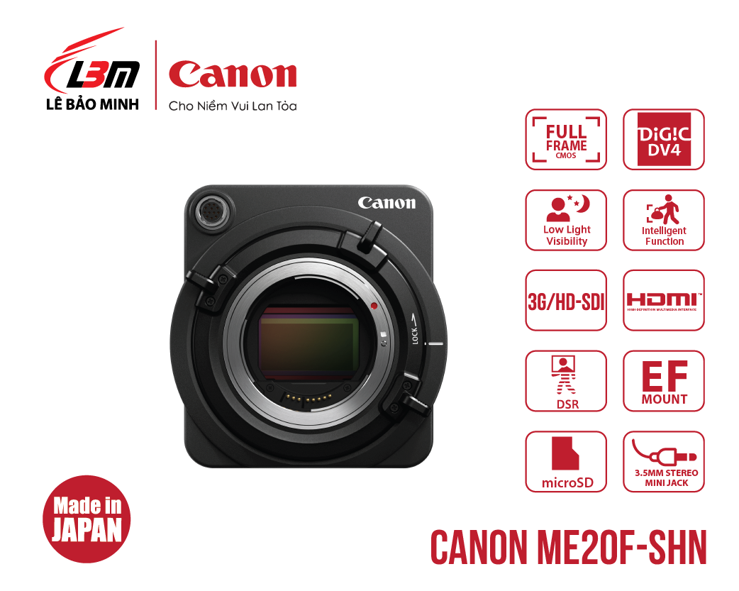 Máy quay Canon ME20F-SHN