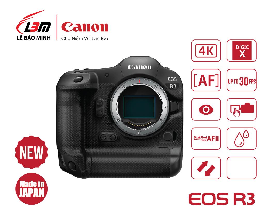 Máy ảnh Canon EOS R3 Body