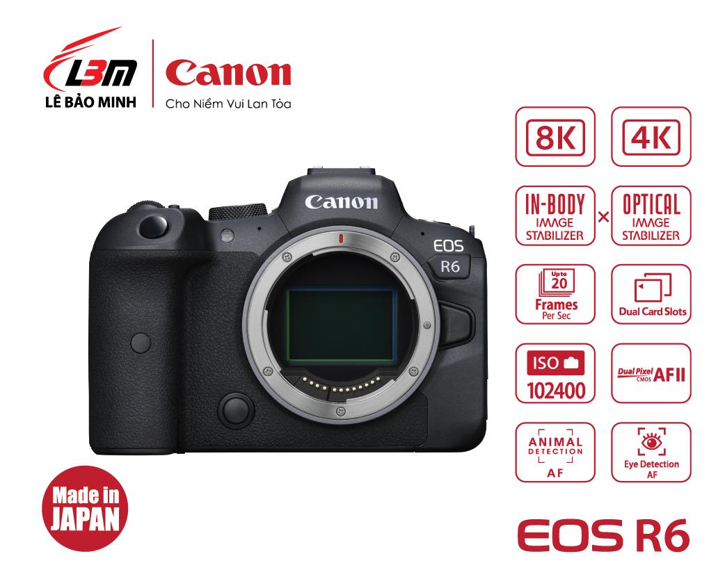 Máy ảnh Canon EOS R6 Body