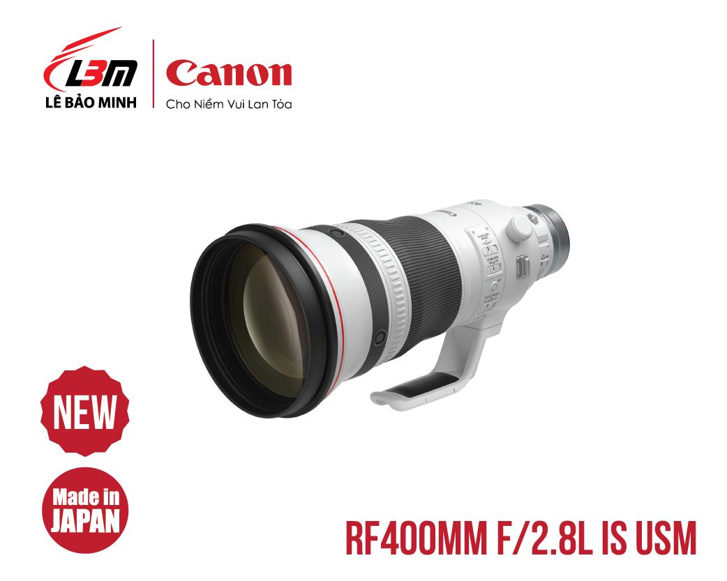 Ống kính Canon RF400mm f/2.8L IS USM