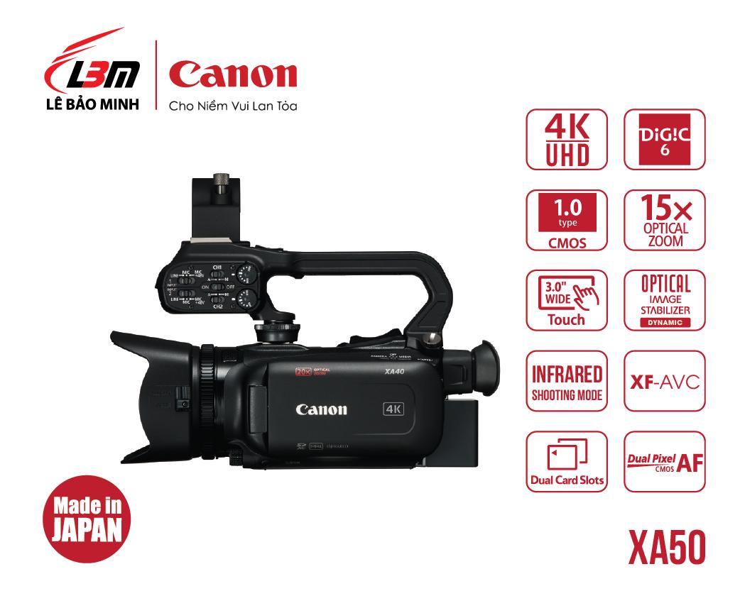 Máy quay Canon XA50 (EU)