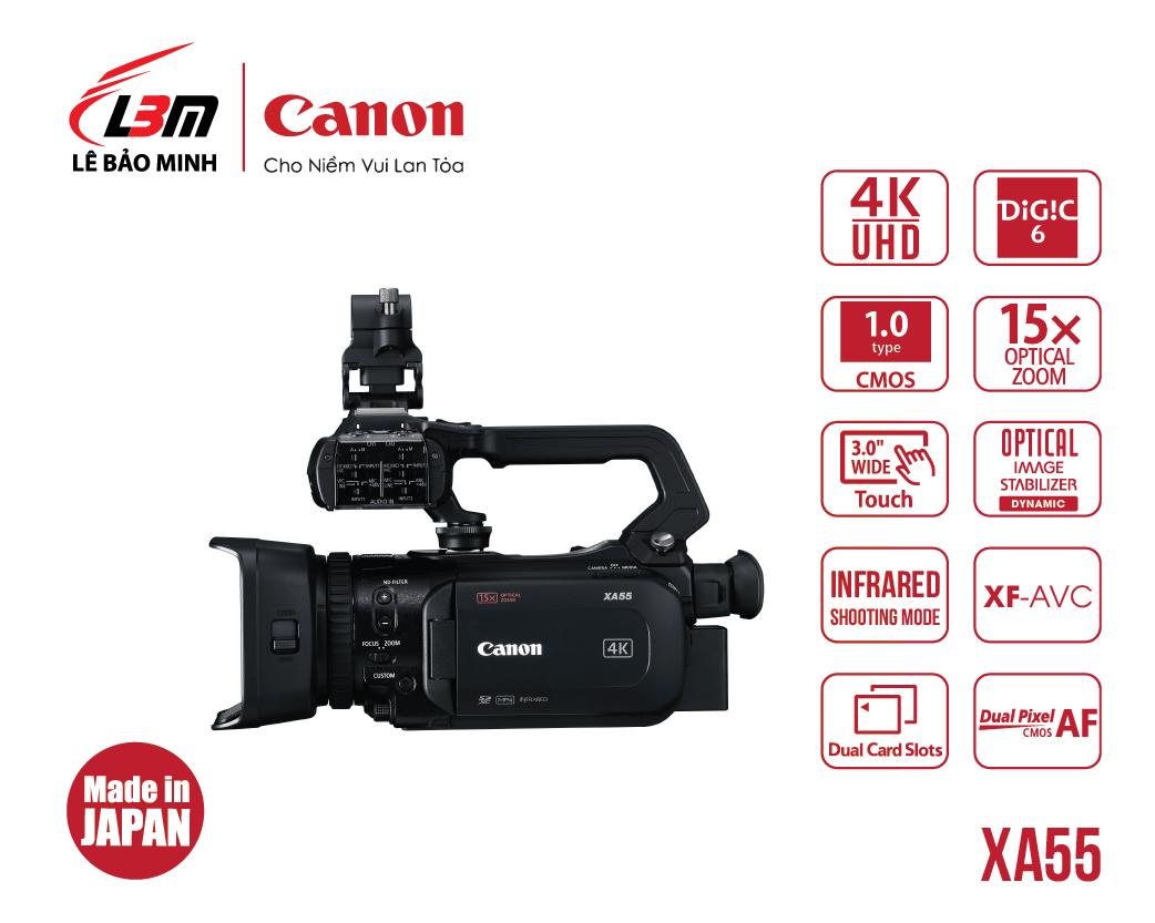 Máy quay Canon XA55 (EU)