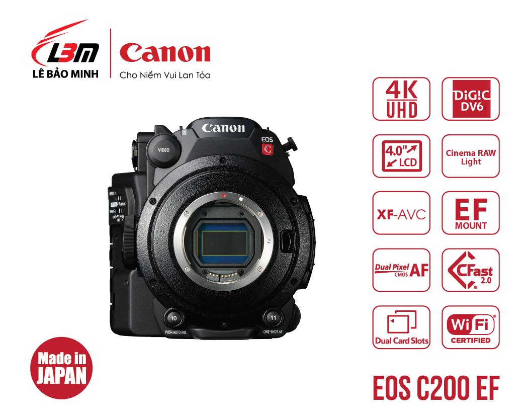 Máy quay Canon EOS C200 EF
