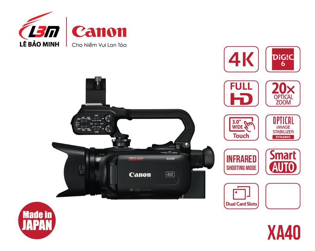 Máy quay Canon XA40 (EU)