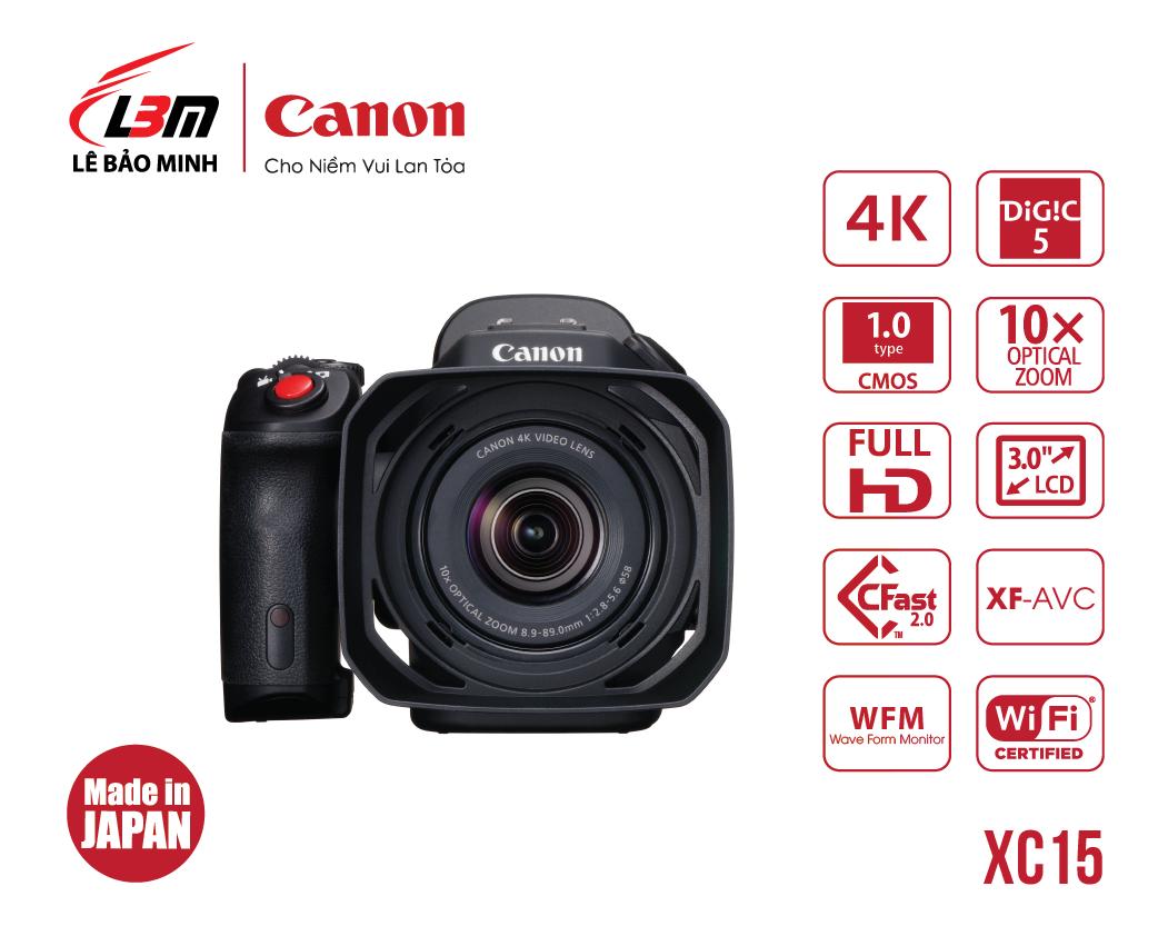 Máy quay Canon XC15 OTH/EU